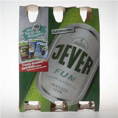 Flaschen-Sixpack (Fun - 06)