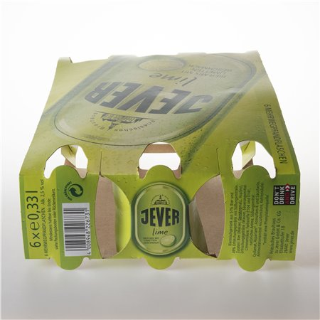 Flaschen-Sixpack (Lime - 01)