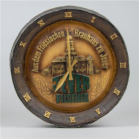 Fassboden-Uhr (braun alt)