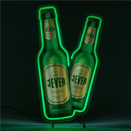 Leuchtreklame (Flaschen)