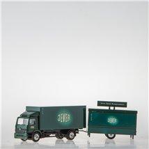 Koffer mit Ausschank-Hänger (1:87 Spur H0 Grell)