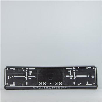 Kennzeichenhalter (Dachmarke - 01)