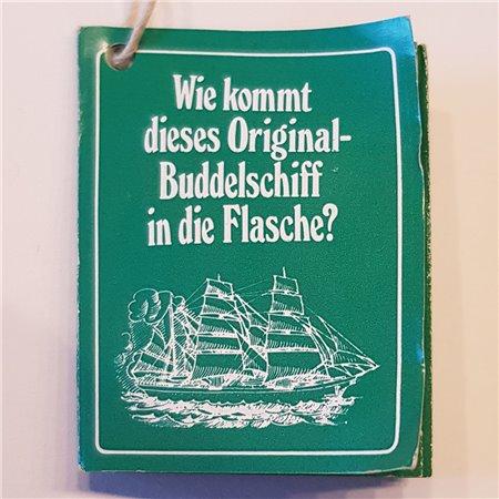 Buddelschiff (Gorch Fock)